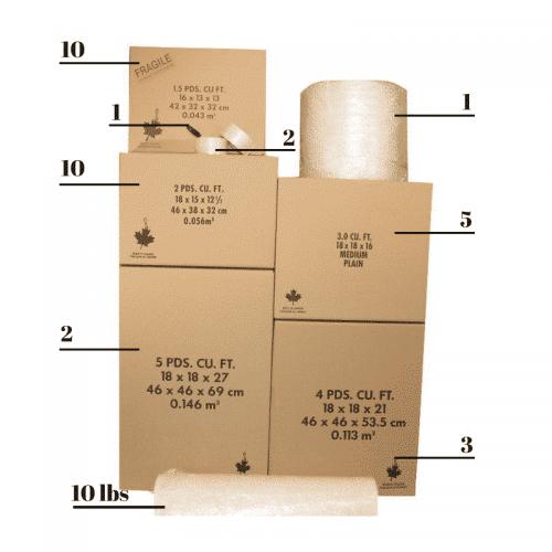 Bedroom Packing Kit